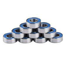 10pcs 5116 5x11x4mm Replacement Precision Ball Bearings MR115-2RS For Traxxas LJ