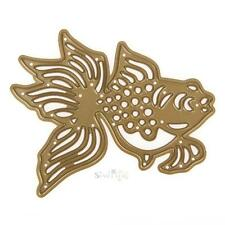Gold Fish Hollow Stencil Cutting Dies DIY Metal Scrapbooking Cards Cutting Dies