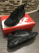 Nike React Element 55 Mens Trainers Black New Size Uk 10 RRP £120.00