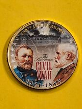 KENNEDY GOLD PLATED CIVIL WAR FREE SHIPPING