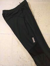 Womens Nike Running Pants Large 12/14 Black Straight Leg Dri Fit Fleece Lined