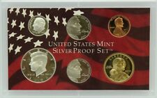 2005-S Partial Silver Proof Set - $1, Half, Dime, Two Nickels & Cent - 6 Coins