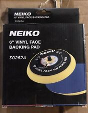 "Neiko 30262A 6"" Vinyl Face Sanding and Backing Pad"