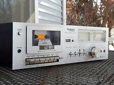 New ListingTechnics Rs-616 Stereo Cassette Tape Deck Recorder -Pro Tech Serviced/Video Demo