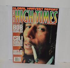 Bob Marley High Times magazine