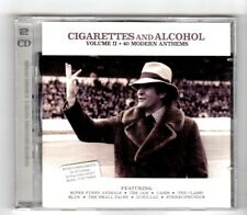 (HY259) Cigarettes & Alcohol, Vol II, 40 tracks - 2001 double CD