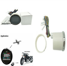 52mm Motorcycle LCD GPS Speedometer Digital Multi-indicator 0~999 MPH Knots Km/h