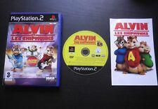 ALVIN ET LES CHIPMUNKS : JEU Sony PLAYSTATION 2 PS2 (enfants COMPLET env. suivi)