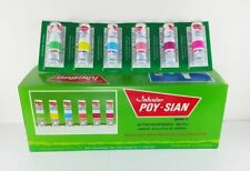 6 POY SIAN eucalyptus menthol oil camphor mark2 cold flu inhaler nasal poysian