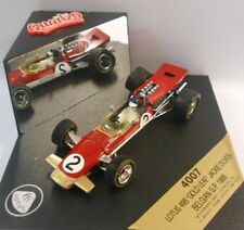 Quartzo 1/43 Scale - 4007 LOTUS 49B 'GOLD LEAF' JACKIE OLIVER BELGIAN GP 1968
