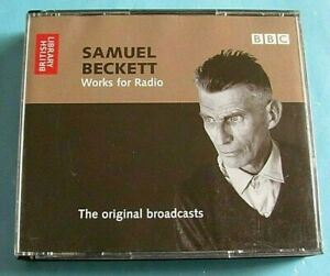 SAMUEL BECKETT Works for Radio CD BBC The Original Broadcasts 4 Discs see below
