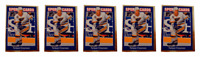 (5) 1992 Sports Cards #103 Nelson Emerson Hockey Card Lot St. Louis Blues