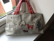 Radley Reindeer  Signature Picture Bag with Dustcover
