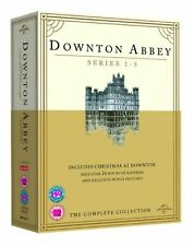 Downton Abbey Complete Series 1,2,3 DVD Collection + Christmas Special Box set