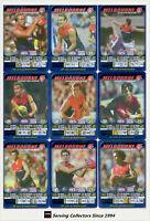 2005 AFL Teamcoach Series Blue Platinum Trading Card Team Set Melbourne (9)
