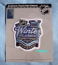 Official NHL 2016 Winter Classic Patch Boston Bruins vs Montreal Canadiens