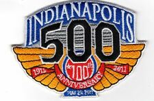 """INDY 500 INDIANAPOLIS MOTOR SPEEDWAY 100TH ANNIVERSARY IMS EMBROIDERED PATCH 4"""""""