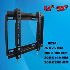 TV Bracket Wall Mount Fr 14 19 20 22 24 26 28 30 32 inch LCD LED Plasma Home Use