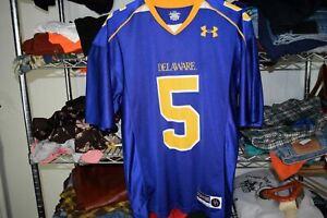 Delaware Blue Hens #5 Under Armour Football Jersey Men's Small Joe Flacco