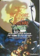 Tim Burton NIGHTMARE BEFORE CHRISTMAS Complete Master Capcom Books PS2