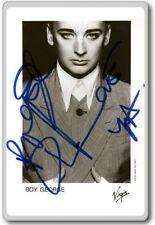 Boy George Autographed Preprint Signed Photo Fridge Magnet