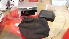 UNUSED LEICA 18722 GENUINE LEICA D-LUX 4/5/6 D-LUX LEATHER CASE (USE HAND GRIP)