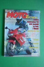 MOTO TECNICA 4/1999 HONDA RS 500 R CBR 600 SUZUKI BURGMAN 400 VTR 1000 FIRESTORM