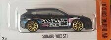 2016 September Hot Wheels Subaru Wrx Sti Kmart Exclusive Kday Black