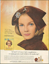1964 Vintage ad for COVER GIRL make-up Noxzema Pretty Model (050216)