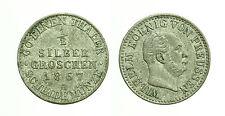 pcc886_1) PREUSSEN  1/2 SILBERGROSCHEN 1867 A WILHELM I