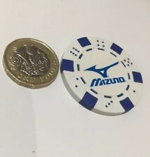 Mizuno Golf Ball Poker Chip Marker x 1 Top Quality  New £1.99 DELIVERED !!!