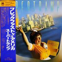 Supertramp Breakfast In America A&M Records AMP-6034 LP Japan OBI INSERT