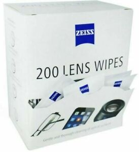 Zeiss Lens Wipes Glasses Individual Sachets Glass Cleaner Pre Moist 5-400 Wipes