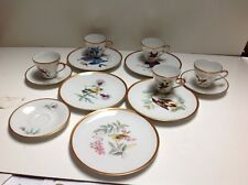 Pasco Hutschenreuther Selbmark China Gold Rimmed dinner plate 13 pc