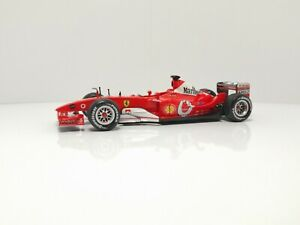 Ferrari F2003 GA Hot Wheels Michael Schumacher collection 1/43