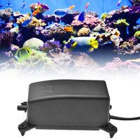 Ultra Silent Aquarium Air Pump Fish Tank Increasing Oxygen Pump 2W New