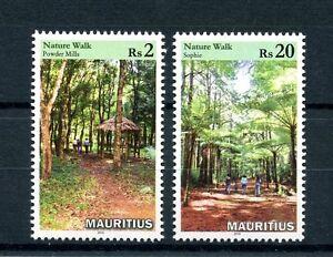 Mauritius 2016 MNH Nature Walks 2v Set Plants Trees Stamps