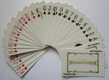 India Playing cards promoting the Bollywood movie Mughal E Azam Nigar Sultana