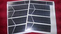 VINTAGE STAR WARS DARTH VADERS TIE FIGHTER REPLACEMENT STICKERS SHEET