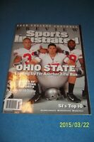 2008 Sports Illustrated OHIO STATE Buckeyes TODD BOECKMAN NCAA Preview NEWSSTAND