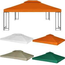 Outdoor Replacement Canopy Top Garden Patio Pavilion Gazebo Tent Sunshade Cover