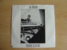 """Joe Jackson: Breaking Us In Two 7"""": 1983 UK Release: Picture Sleeve"""