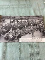 m10b ephemera ww1 picture sailly le sec 1918 british wounded