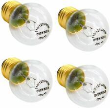 Oven Bulb E27 E26 G45 120 Volt 40 Watt,High Temperature 300 Degree Resistant Inc