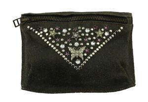 WESTERN-SPEICHER Hip Belt Bag Leather Rhinestone Swarovski Element WS031