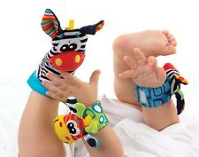 Playgro Style/Colors Baby Zoo Animal Foot Rattles, 2 pieces