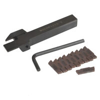 MGEHR1212-3 Lathe Cut Off Grooving Tool Holder + 10pcs MGMN300 Carbide Inserts