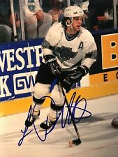 LUC ROBITAILLE SIGNED LOS ANGELES KINGS AUTOGRAPHED 8X10 PHOTO COA