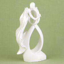 """NEW Hortense B. Hewitt Porcelain Dancing Couple 9.5"""" tall Cake Top Topper"""