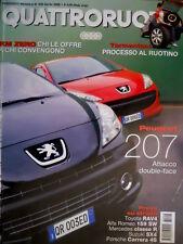 Quattroruote 606 2006 Al volante BMW Z4 M. Alfa Romeo 159 e Porsche Carrera Q.10